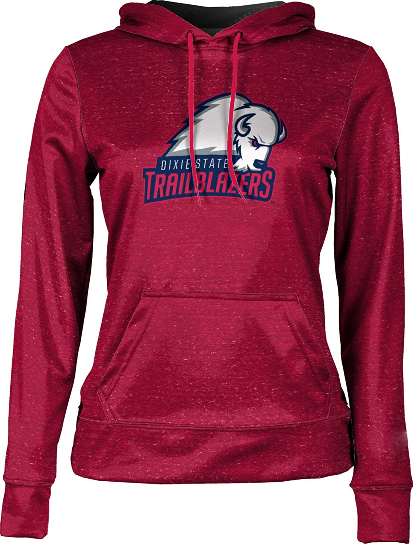 School Spirit Sweatshirt ProSphere Dixie State University Girls Pullover Hoodie Heather