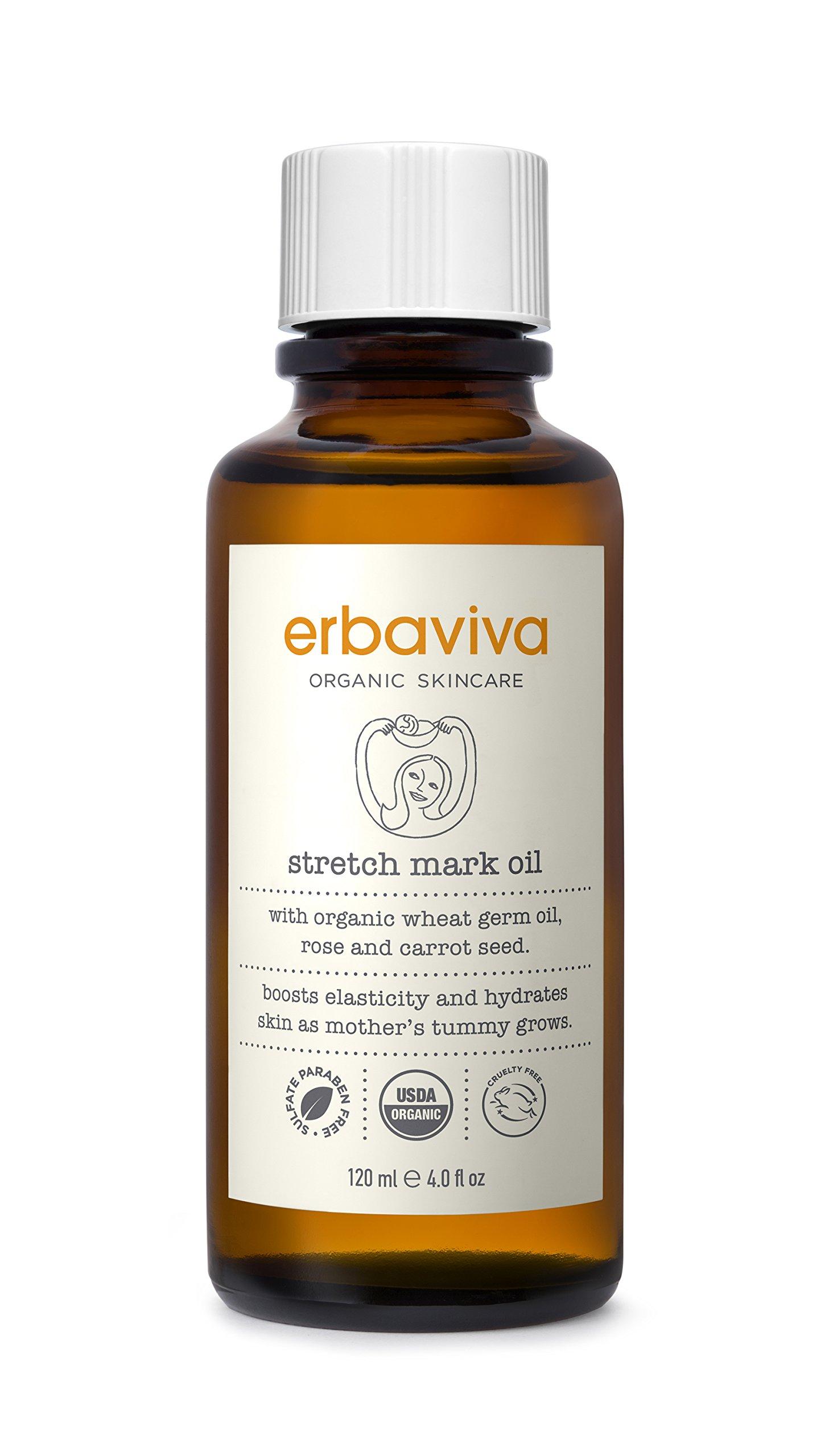 Erbaviva Stretch Mark Oil, 4 oz