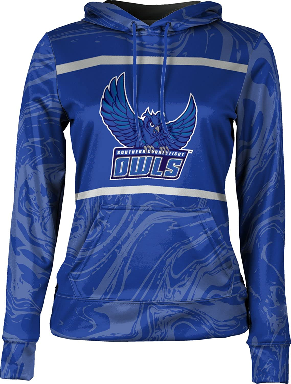 School Spirit Sweatshirt Ripple ProSphere Southern Connecticut State University Girls Pullover Hoodie