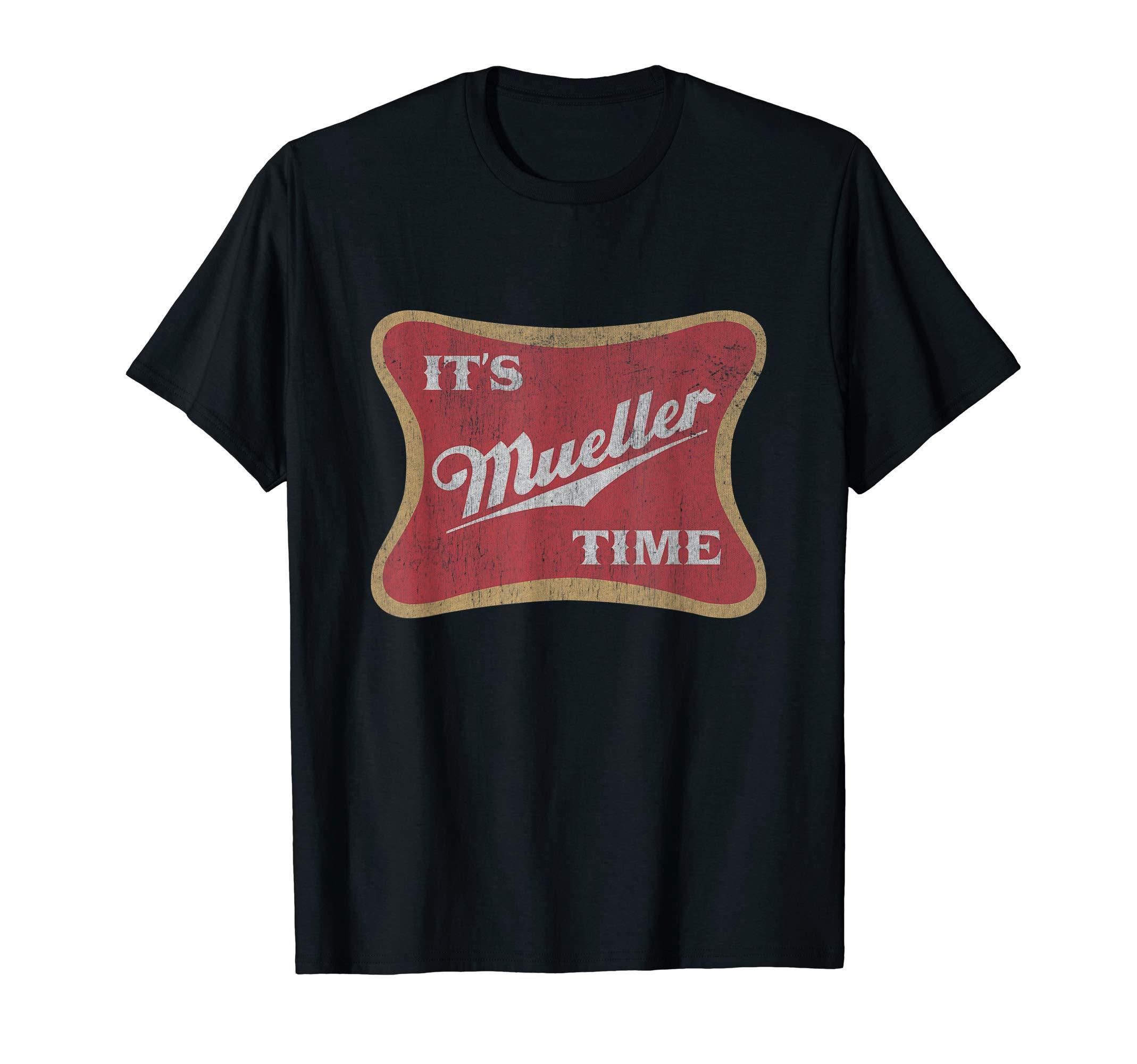 It's Robert Mueller Time Anti Trump Tshirt Resist Tee Shirt