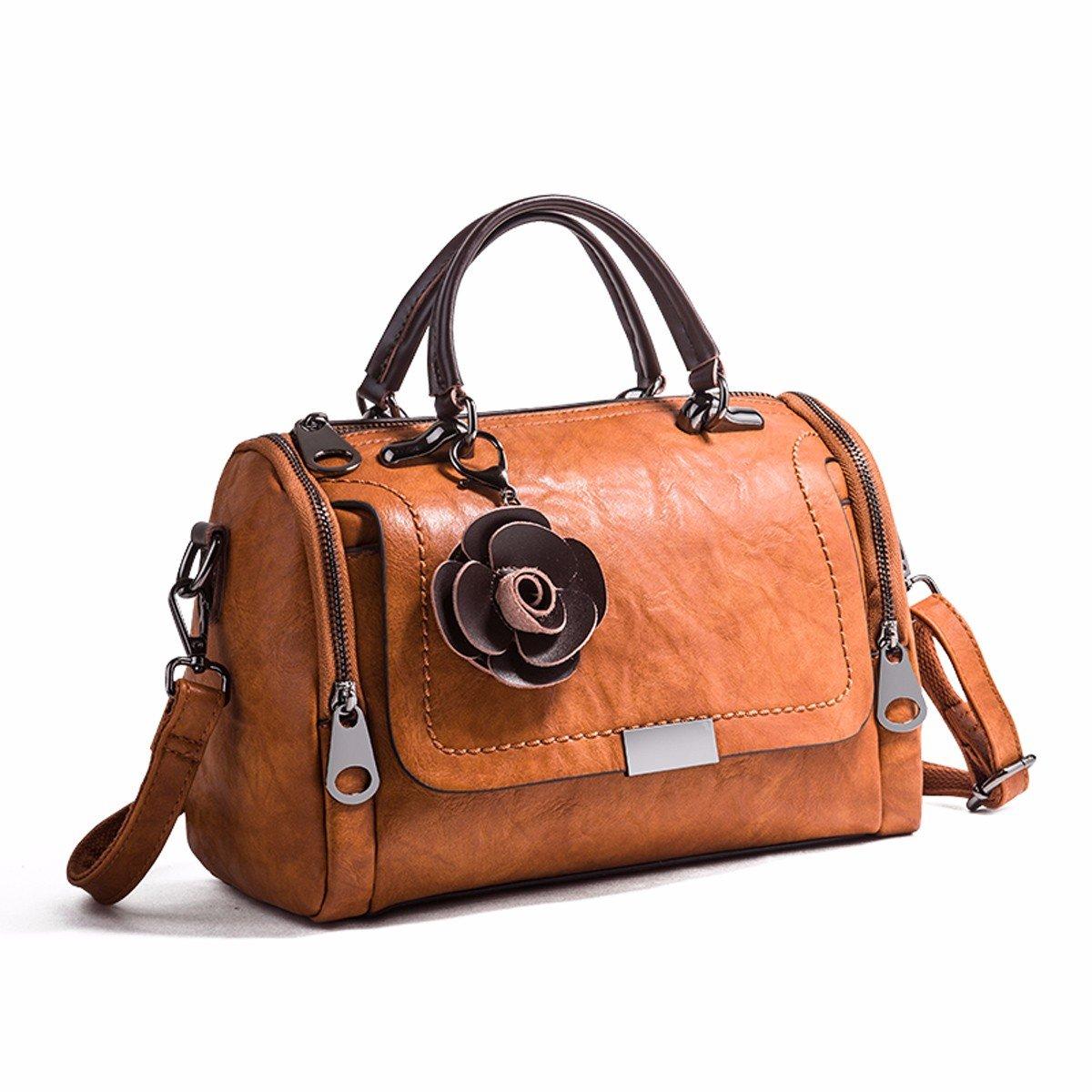 GTVERNH-der Frauen/Mode Handtasche/All-Match/Lady Handtasche Retro - Mode Taschen Joker Schulter ranzen Weiches Leder - Tasche.