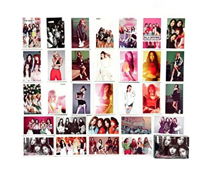 Amazon com : SV Best Blinkpink Girl group Kpop Lomo Cards