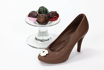 14b0e628b314 Amazon.com   Product Details Chocolate High Heel Shoe Milk By ...