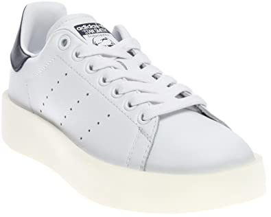 f90fcd5706 Adidas Stan Smith Bold Femmes US 8 Blanc Baskets: Amazon.fr ...