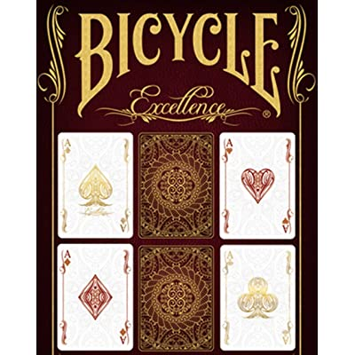 Eureka Bicycle Excellence Deck by US Playing Card Co. - Trick: Toys & Games