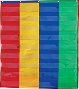 Learning Resources 2 And 4 Column Double-sided Pocket Chart, 30