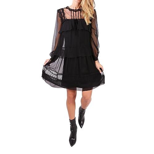 Alberta Ferretti Vestito Donna V04025114555 Seta Nero