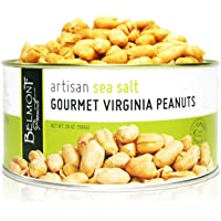 Belmont Peanuts Artisan Sea Salt Virginia Peanuts, 20oz