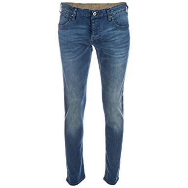 1862386ada9 Mens Armani Mens J20 Extra Slim Fit Jeans in Denim - 29R  Armani   Amazon.co.uk  Clothing