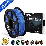 SUNLU 3D Printer Filament PLA Plus Blue(more like sky),PLA Plus Filament 1.75 mm,Low Odor Dimensional Accuracy +/- 0.02 mm 3D Printing Filament,2.2 LBS (1KG) Spool 3D Printer Filament for 3D Printers & 3D Pens,Blue(more like sky)