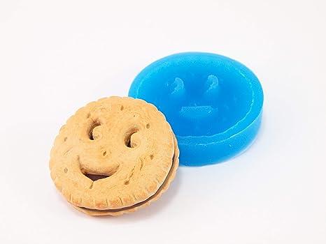 Molde de silicona de galletas para fimo, plastilina, resina, porcelana fría