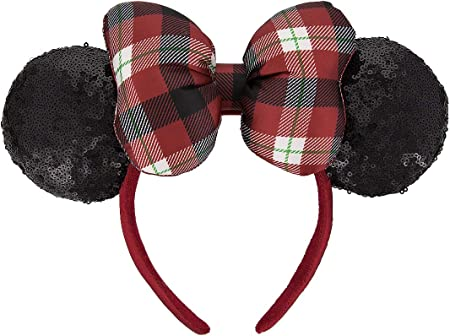 Flannel Ears Disney Flannel Headband Mickey Ears