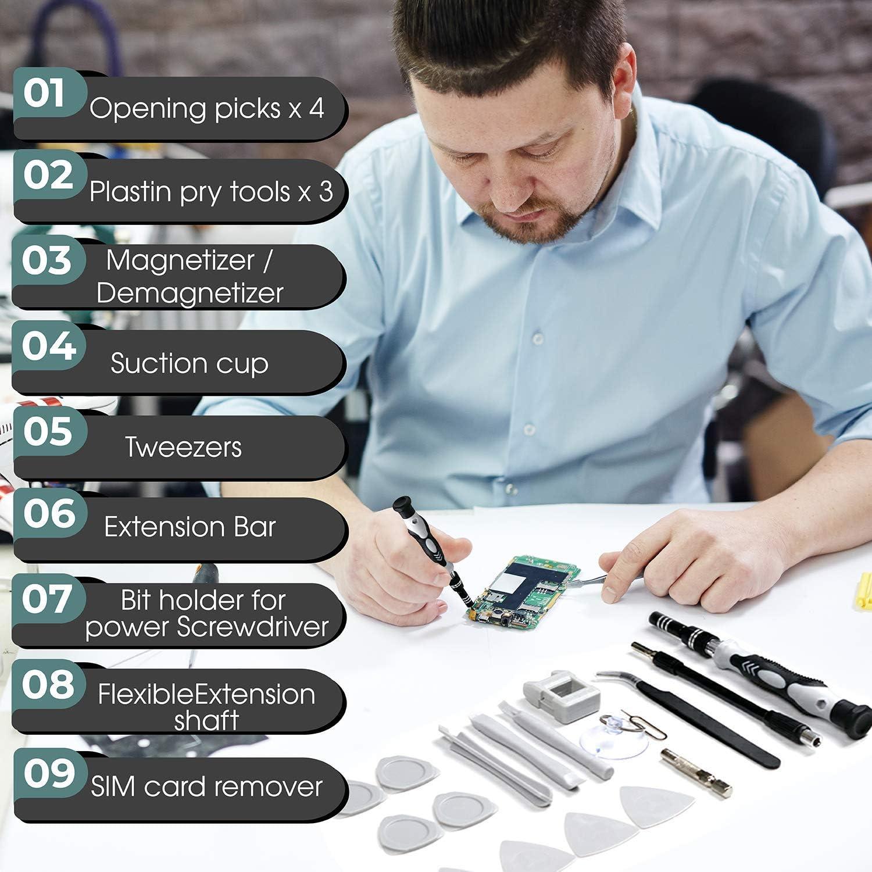 117 in 1 Magnetic Precision Scredriver Repair Kit