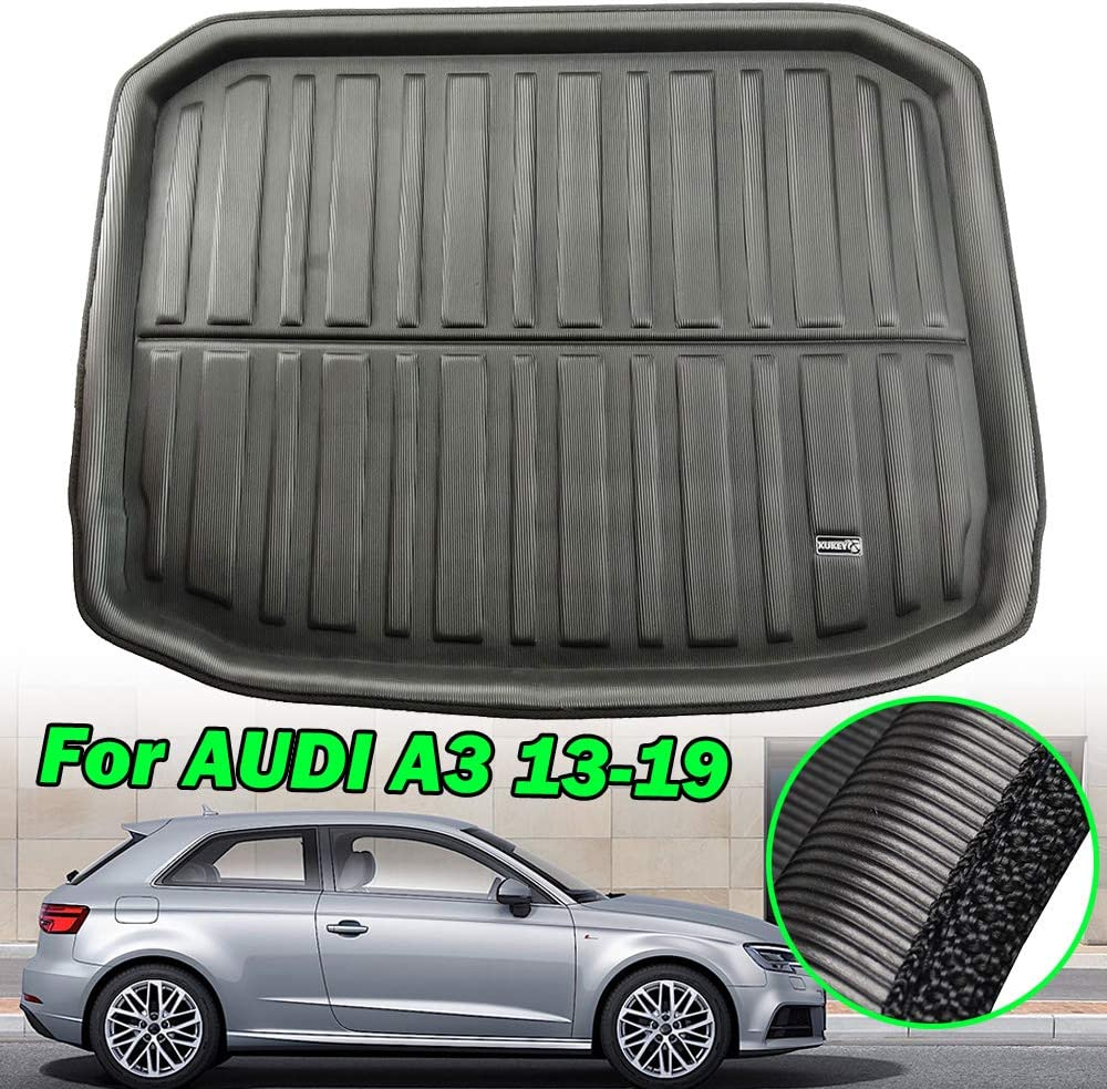 Amazon.es: XUKEY para Audi A3 S3 RS3 8 V Sportback Hatchback 2013-2018 maletero maletero maletero maletero maletero bandeja de equipaje bandeja bandeja de equipaje a medida