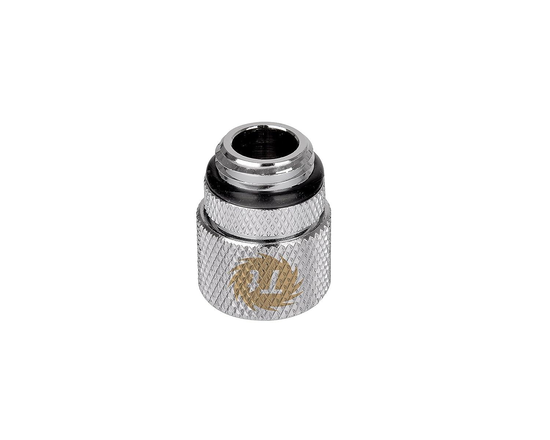 Thermaltake CL-W031-CA00SL-A Pacific 1//2in ID x 5//8in OD Compression � Chrome