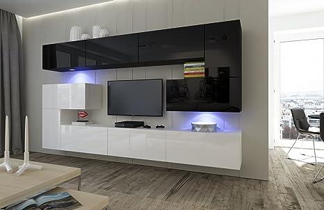 HomeDirectLTD Moderno Conjunto de Muebles para salón Albania ...
