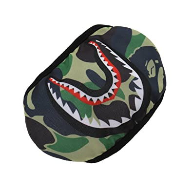 Emma Camouflage A Bathing Ape Shark Cycling Outdoor Mouth-muffle Face Mask 4eb990d3027