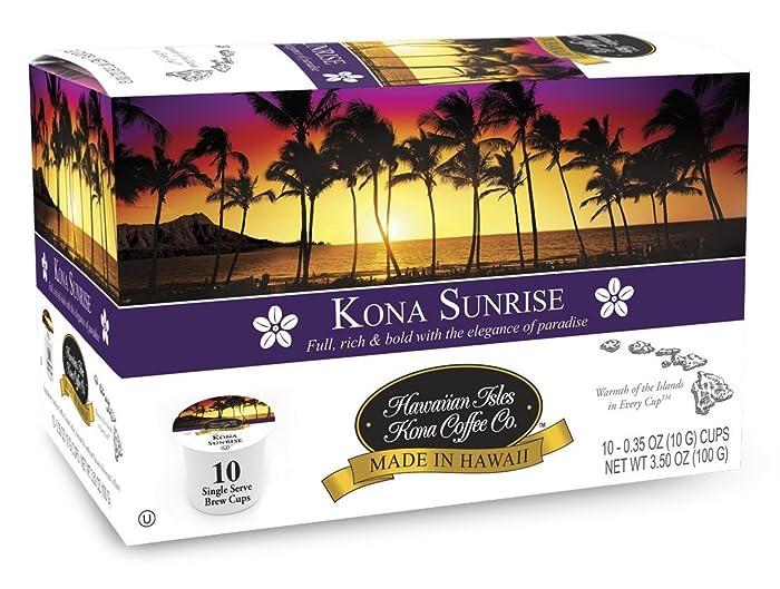 The Best Keurig K Cups Kona Coffee Island Sunrise