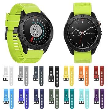 VNEIRW_Electronics Correa de reloj para Garmin enfoque S60 ...