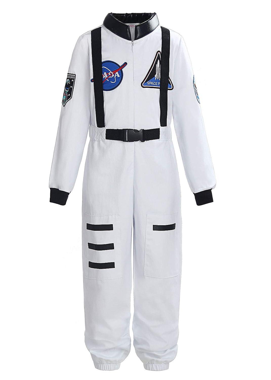 Boys Girls Astronaut Costume