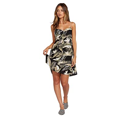 2b224c80cfa6 Amazon.com: Volcom Women's Hey Bud Flare Cami Dress: Clothing