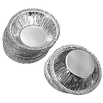 SHINA 250XMolde de Tarta de Huevo Bandeja de Tarta Tarta de papel de aluminio molde de aluminio Tazas pequeñas de estaño desechable: Amazon.es: Hogar
