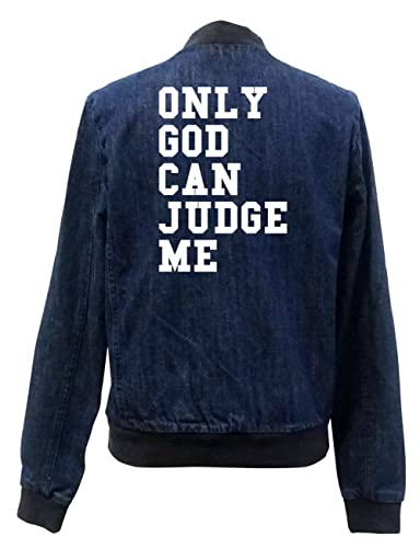 Only Good Can Judge Me Bomber Chaqueta Girls Jeans Certified Freak