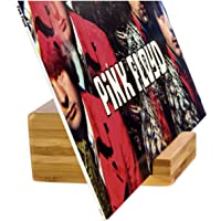 Record-Happy Vinyl Record Holder Stand – Single Album LP Display Perfect to Show Your Now Playing 12 inch, 7inch Records…
