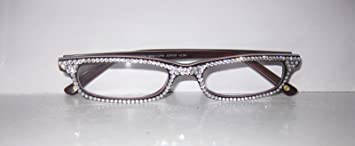 ab72279c779 Image Unavailable. Image not available for. Color  Jimmy Crystal of Ny  Reading Glasses with Sparkling ...