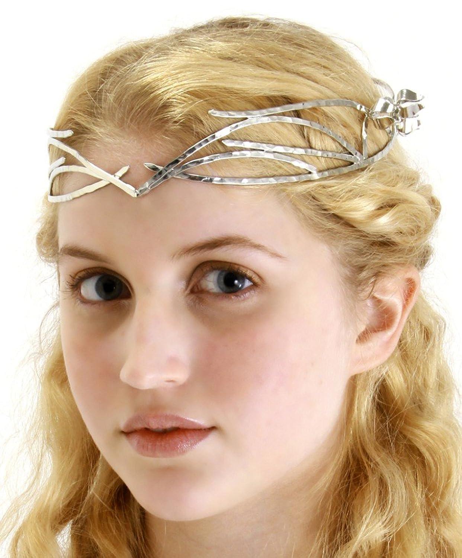 Elope galadriel elf queen crown  sc 1 st  HalloweenAngel & Elven Queen Lady Galadrielu0027s Hobbit Costume Guide