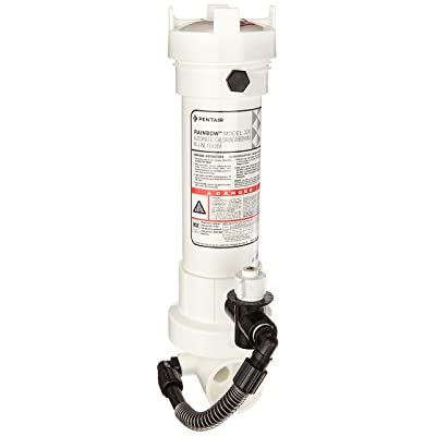 Pentair R171096 Rainbow 320 Automatic In-Line Chlorine/Bromine Feeder For Pool And Spa : Swimming Pool Chemicals And Supplies : Garden & Outdoor