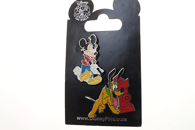 Amazon.com: Disney Mickey Mouse & Pluto con boca de ...