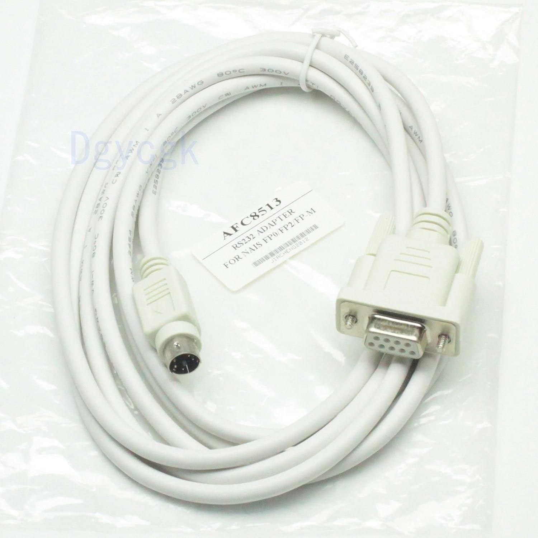 AFC8503//AFC8513 Cable De Programación Usb Para Plc Nais Fpx Panasonic FP0 FP2 002329