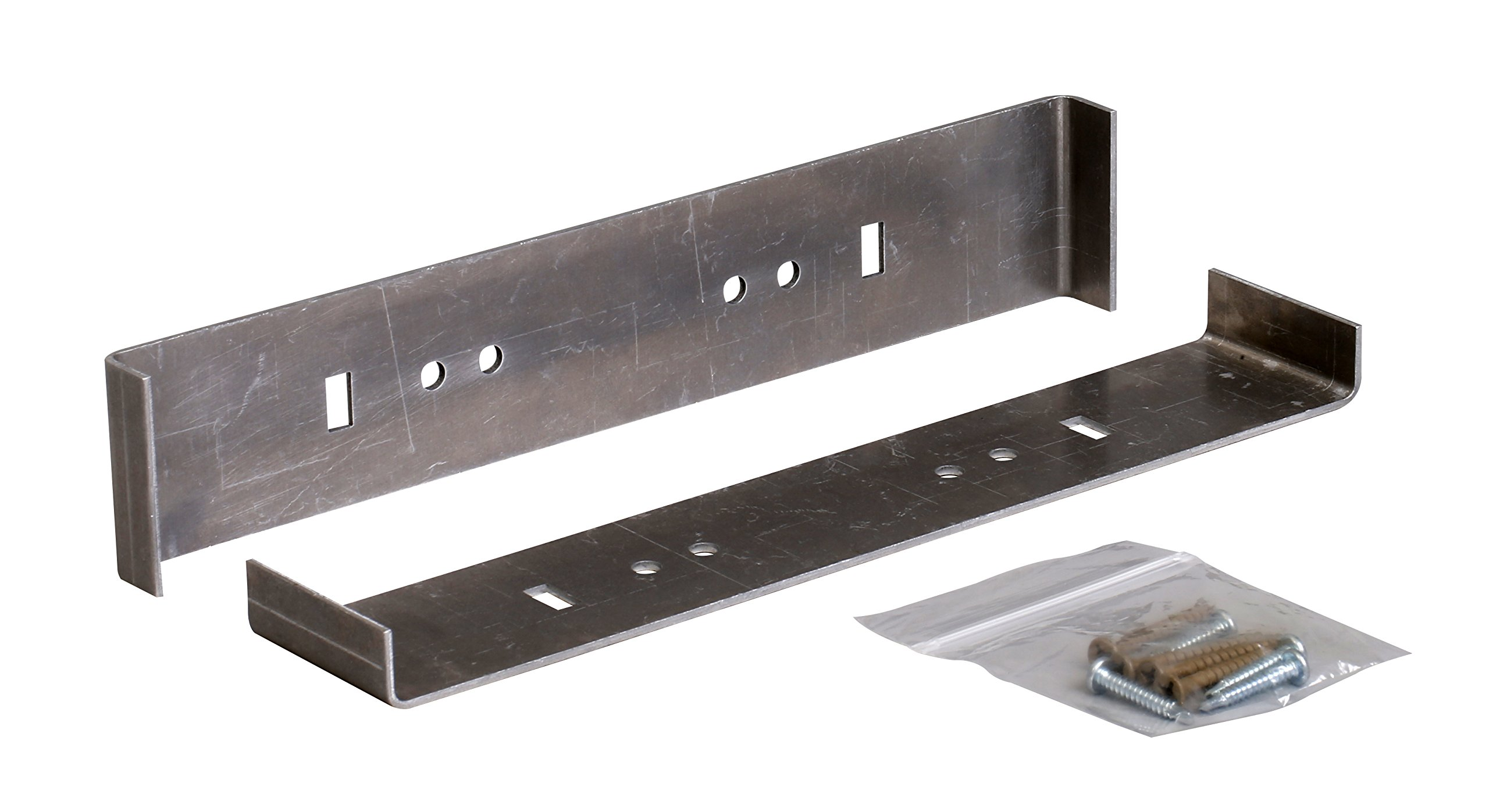 "Rust-free Aluminum Extra Large Mailbox Mounting Bracket (designed to fit 23.69"" L x 11.56"" W mailboxes)"