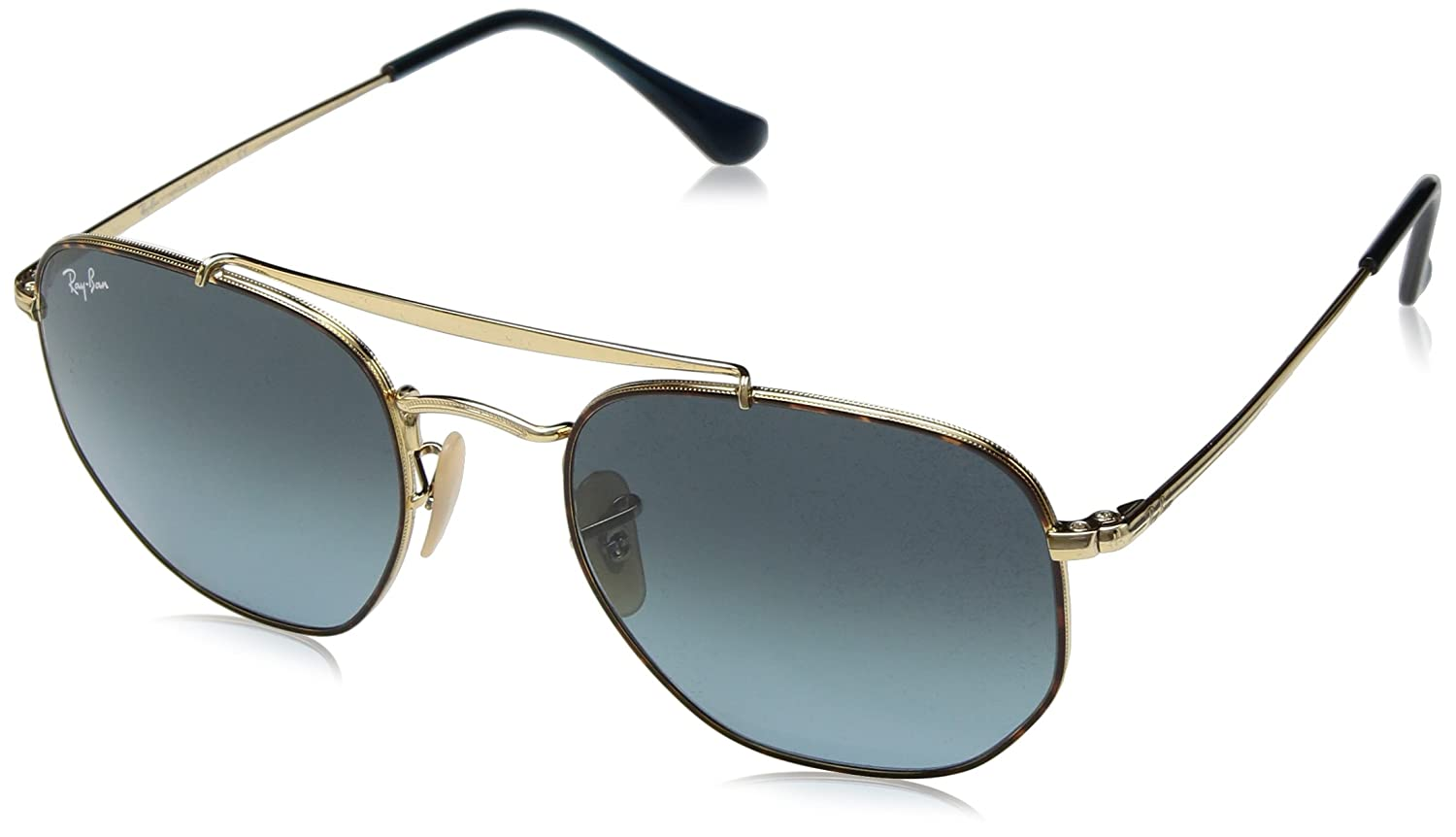 Amazon.com: Ray-Ban RB3648 Marshall Aviator - Gafas de sol ...