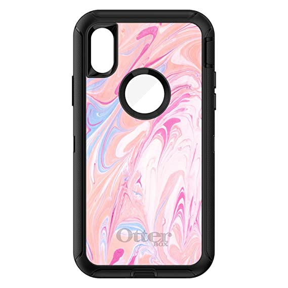 low priced a5255 82b11 Amazon.com: DistinctInk Case for iPhone X/XS (NOT Max) - OtterBox ...