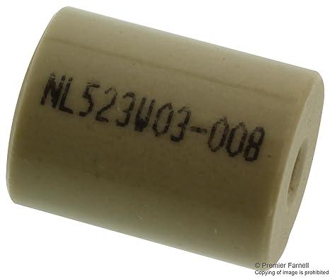 "Lot of 4 Keystone Ceramic Standoffs 0.5/"" X 1.50/"" 8//32 Threaded Hole .50/"" deep"
