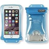 【DiCAPac】スマホ 全機種対応 100%完全防水/4.7~5.5インチ/5.7インチ以下(アイフォン 6~iPhone7 Plus/ギャラクシーS7/S7edge/GALAXY Noteなど)JIS IPX8規格獲得・正規品/携帯 防水パック/iphone、galaxy、XPERIA、AQUOS/WP-C2【DAIYO】ブルー [並行輸入品]