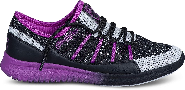 Strikeforce Jazz Black//Purple Womens Bowling Shoe