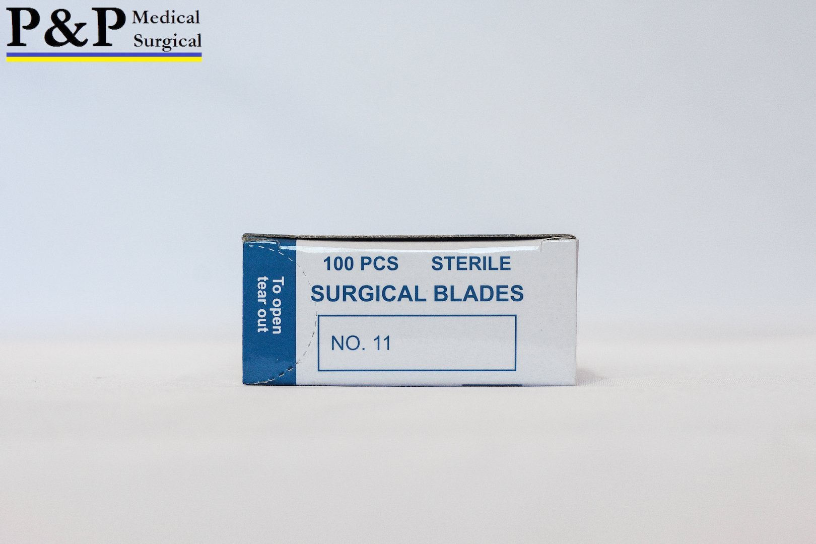 SCALPEL BLADE DISPOSABLE SURGICAL Size 11 (3000 blades) (High Grade Carbon Steel 2.1%,10xx) ,DESIGNED in USA by P&P Medical Surgical (Image #3)