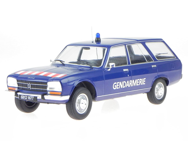 Peugeot 504 Break 1976 Gendarmerie Modellauto 18036 MCG 1:18