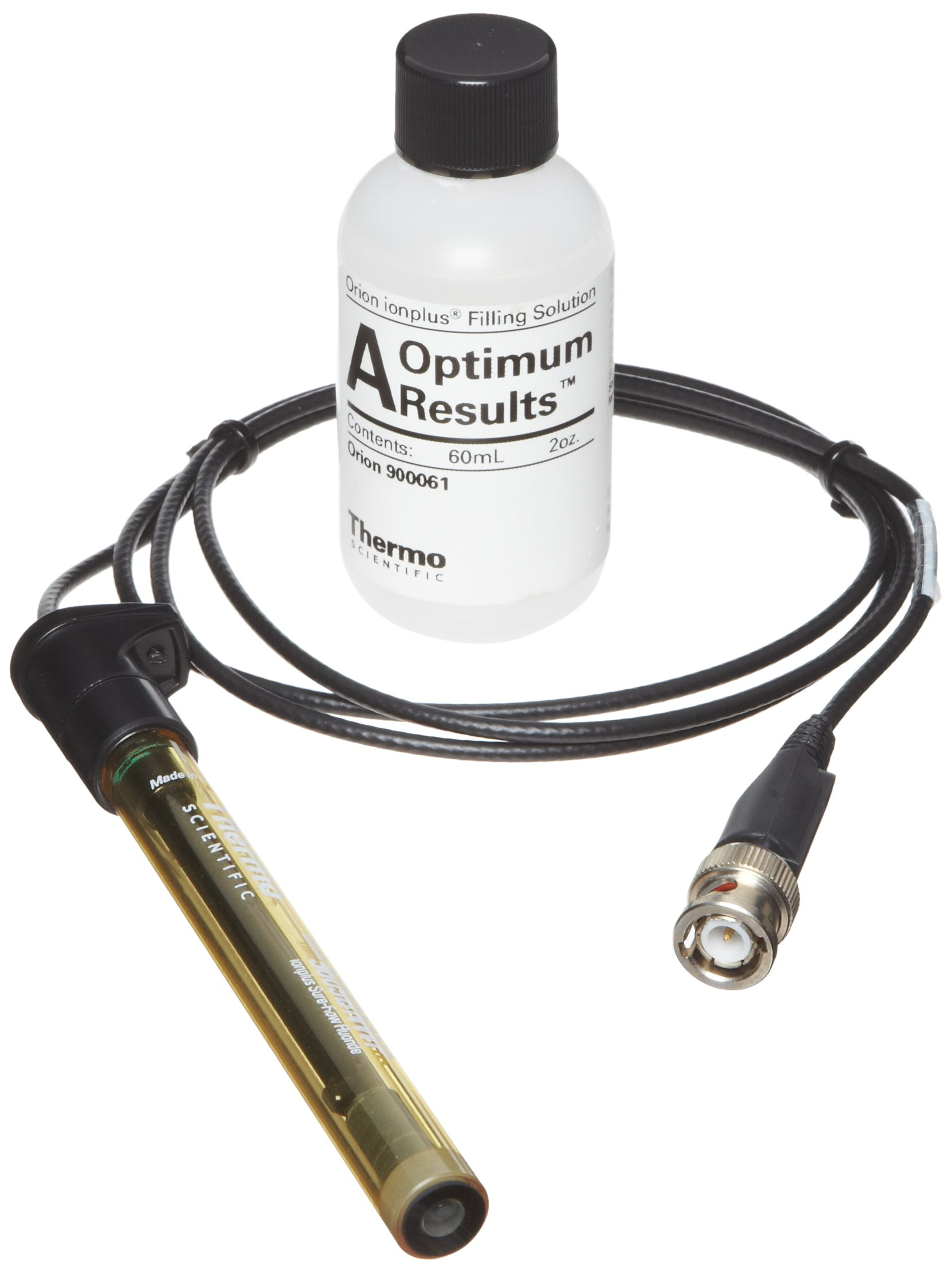 Thermo Scientific Orion Fluoride Electrode, with Waterproof BNC Connector, 5 to 7 pH