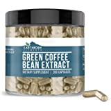 Green Coffee Bean Extract, 200 Capsules, 840 mg Servings, Non-Stimulant, Lab-Tested & Gluten-Free, Pure, Non-GMO, No…