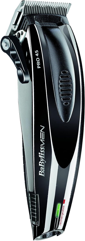 BaByliss E951E – Maquina profesional de cortar el pelo de alta precisión con cuchillas XXL de 45 mm en acero inoxidable y motor digital