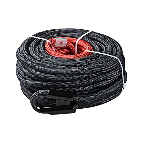 Amazon.com: Cable de cuerda de cabrestante sintético con ...