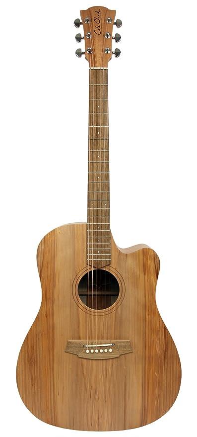 Cole Clark ccfl1ec-bm guitarra Electro-Acoustique: Amazon.es ...