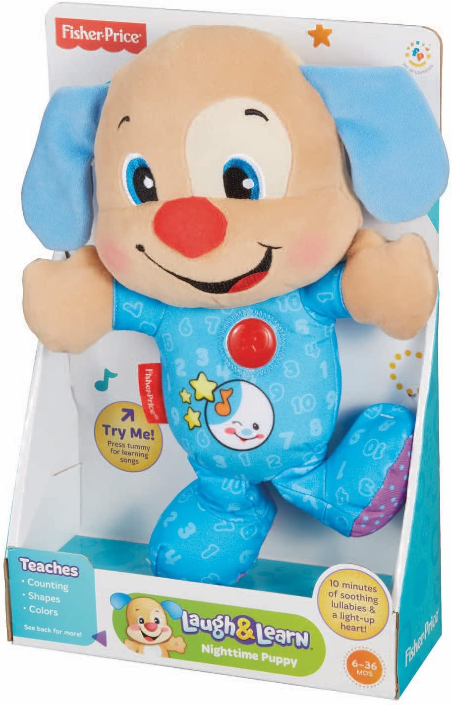 Fisher-Price Laugh /& Learn Nighttime Puppy