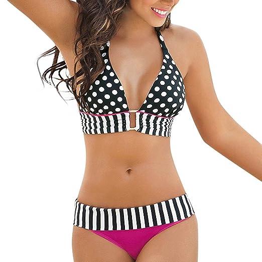 4d85bf56eb2 Amazon.com  Bikini Set Wugeshangmao Girls  Sexy Bikini