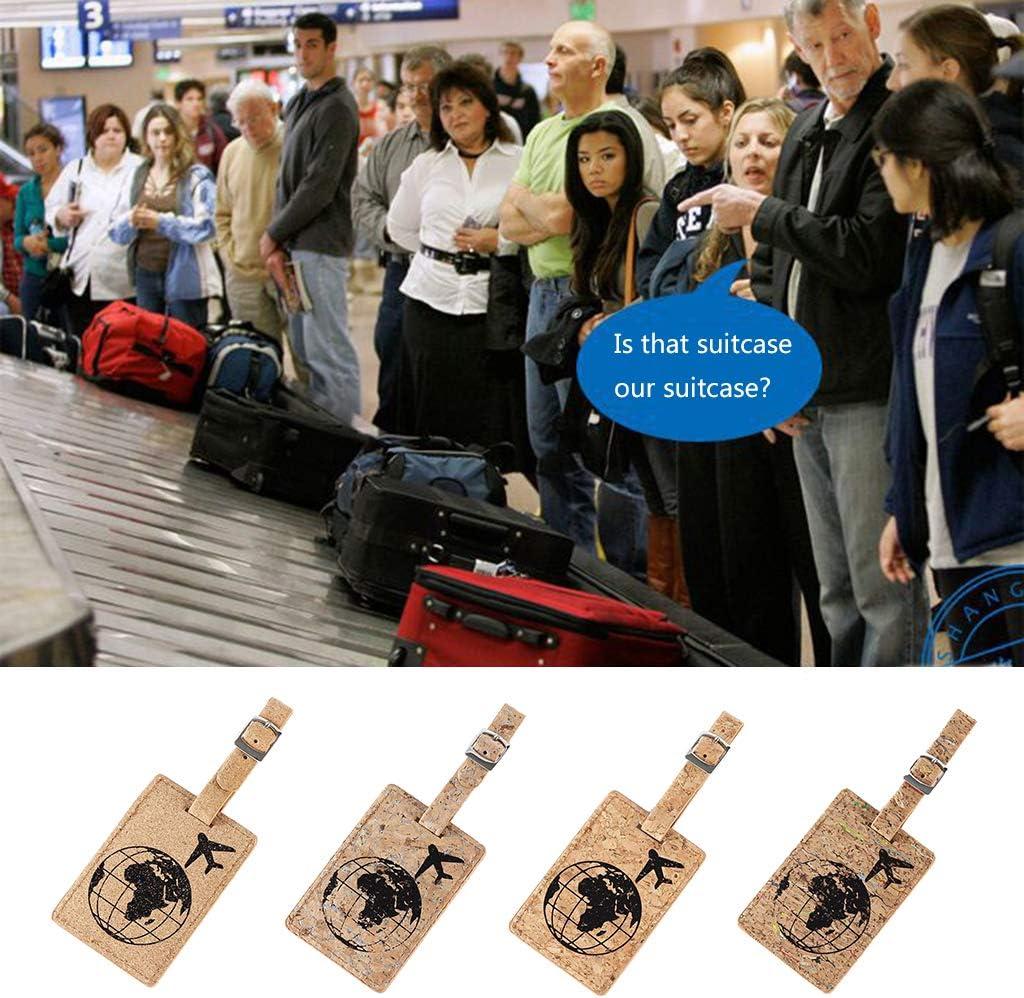 Mentin /Étiquettes de Bagages 1# Bagages Sacs de Voyage Accessoires de Voyage Porte-/étiquette pour identifier valises