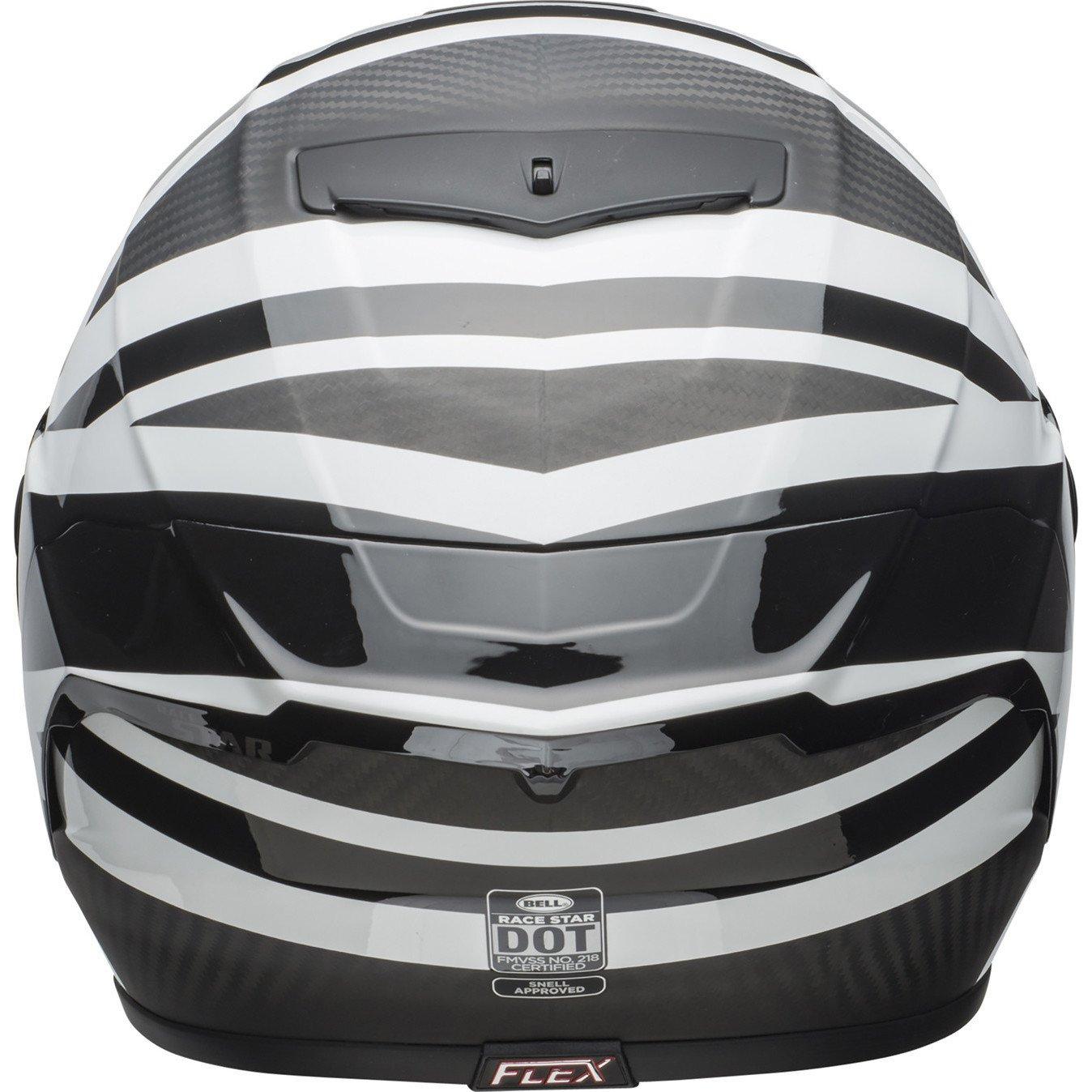 BELL Race Star Ace Cafe Blackjack Motorcycle Helmet